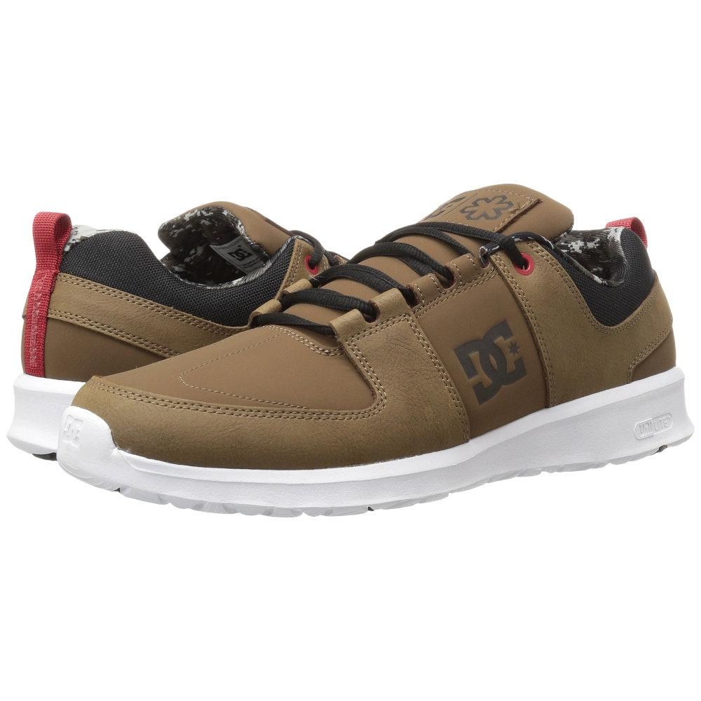 ディーシー メンズ シューズ・靴 スニーカー【Lynx Lite SPT】Brown/Brown/Red