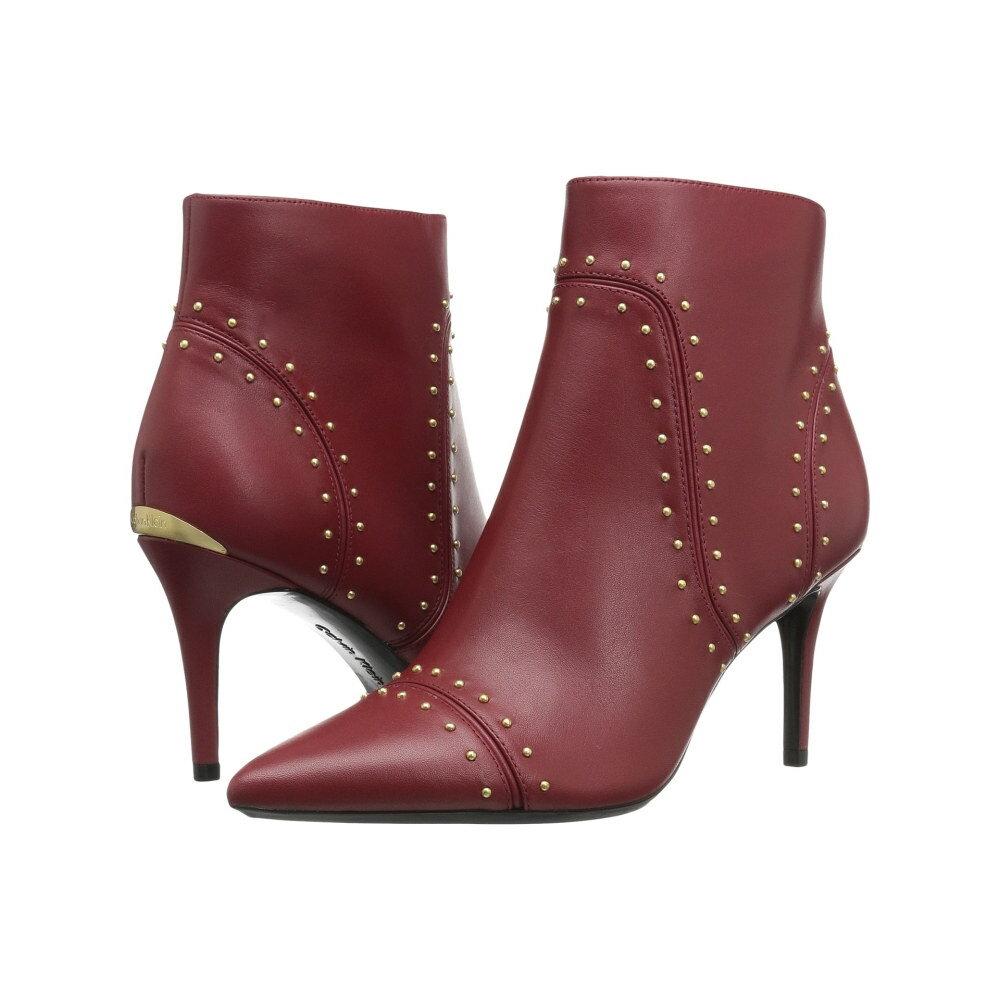 カルバンクライン レディース シューズ・靴 ブーツ【Grazia】Garnet Leather