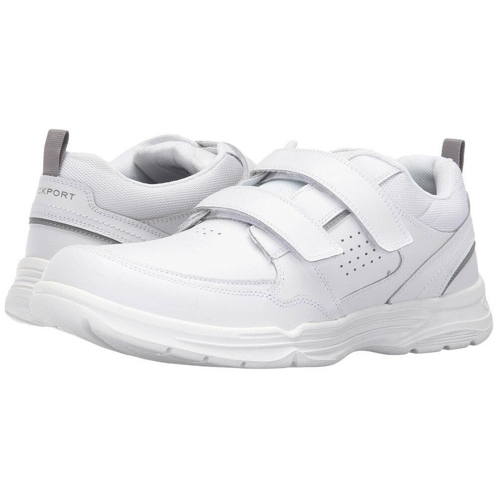 ロックポート メンズ シューズ・靴 スニーカー【State-O-Motion Hook and Loop】White Leather