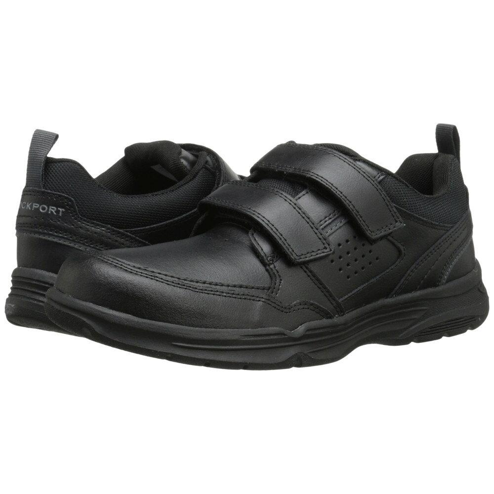 ロックポート メンズ シューズ・靴 スニーカー【State-O-Motion Hook and Loop】Black Leather