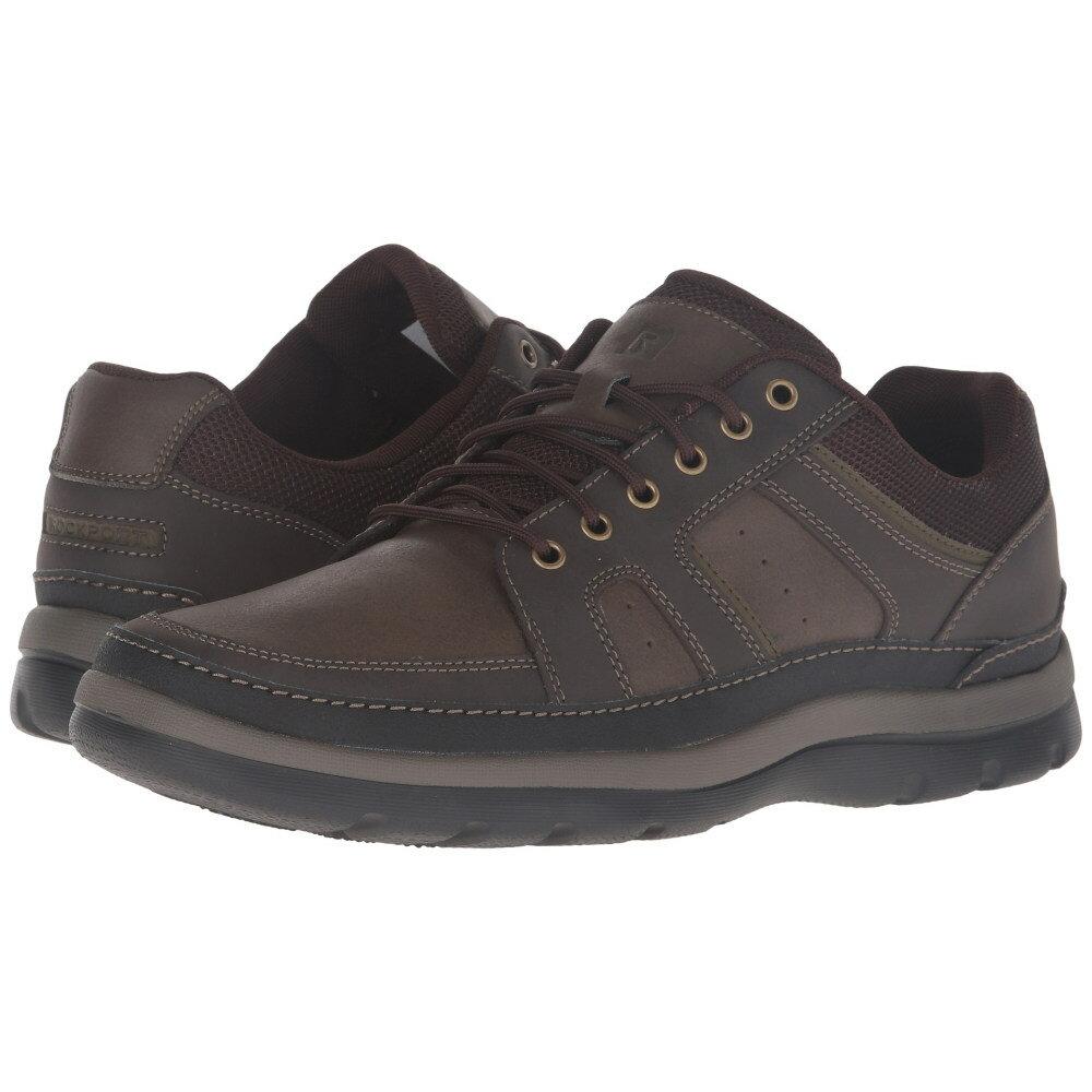 ロックポート メンズ シューズ・靴 スニーカー【Get Your Kicks Mudguard】Dark Brown Leather