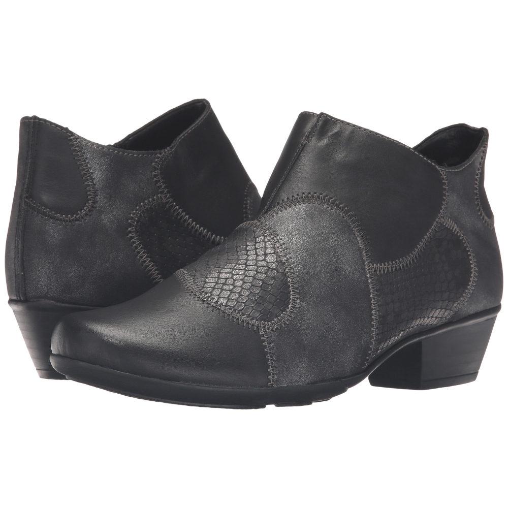 リエカー レディース シューズ・靴 ブーツ【D7383 Milla 83】Schwarz/Granit/Graphit