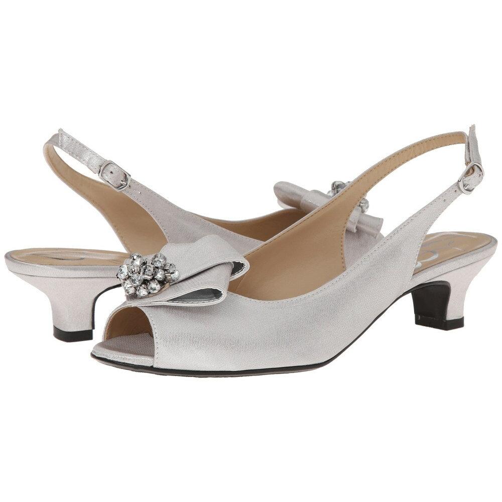 ジェイレニー レディース シューズ・靴 ヒール【Jadan】Silver