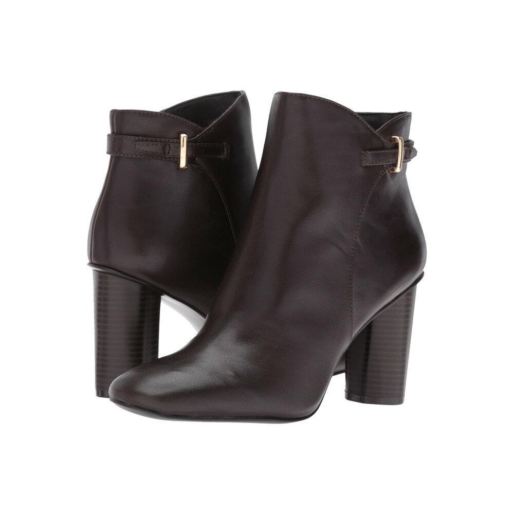 ナインウェスト レディース シューズ・靴 ブーツ【Vaberta】Dark Brown Leather