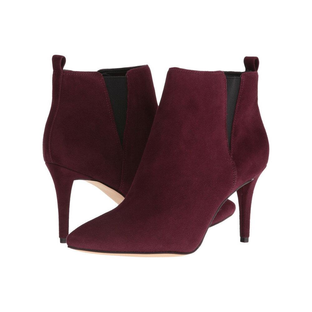 ナインウェスト レディース シューズ・靴 ブーツ【Paganeli】Dark Red Suede