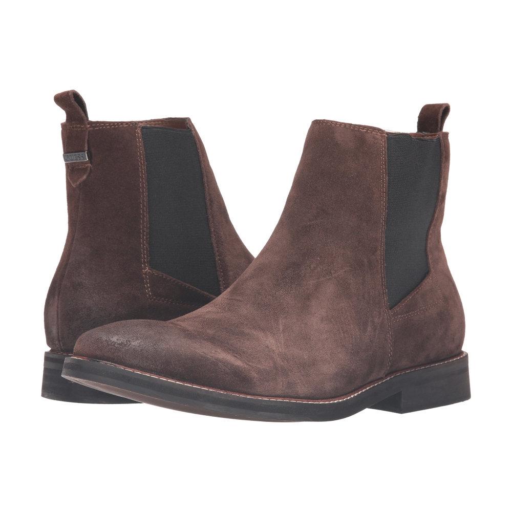ゲス GUESS メンズ シューズ・靴 ブーツ【Jibbs】Brown