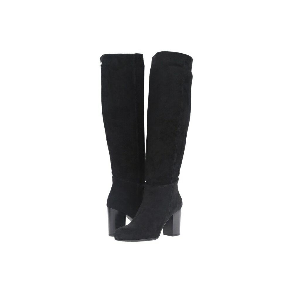 サム エデルマン レディース シューズ・靴 ブーツ【Silas】Black Velour Suede Leather