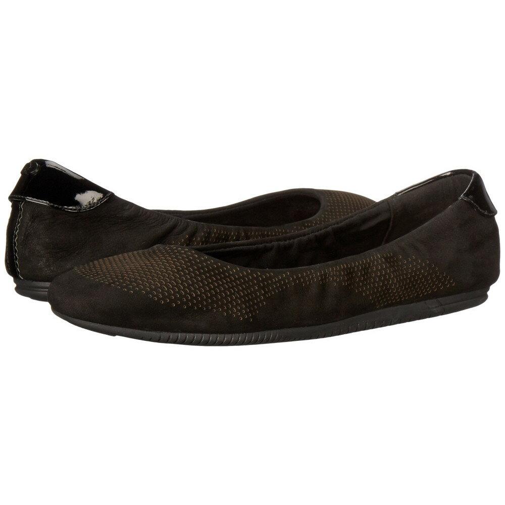 コールハーン Cole Haan レディース シューズ・靴 フラット【2.0 Studiogrand Convertible Ballet】Black Nubuck/Patent/Black