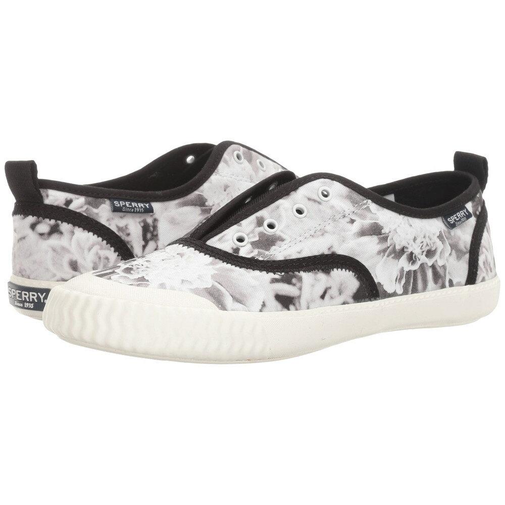 スペリー レディース シューズ・靴 スニーカー【Sayel Clew Floral】Black/White