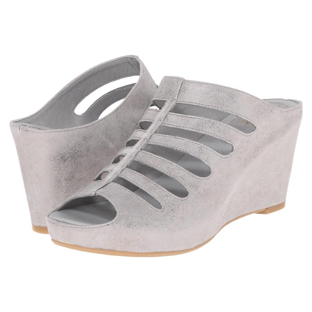 ジョンストン&マーフィー Johnston & Murphy レディース シューズ・靴 サンダル【Tess】Silver Metallic Italian Calfskin