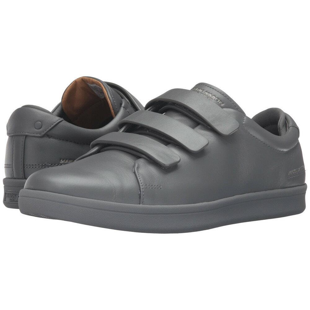 マークネイソン Mark Nason メンズ シューズ?靴 スニーカー【Bunker】Charcoal Leather/Charcoal Bottom