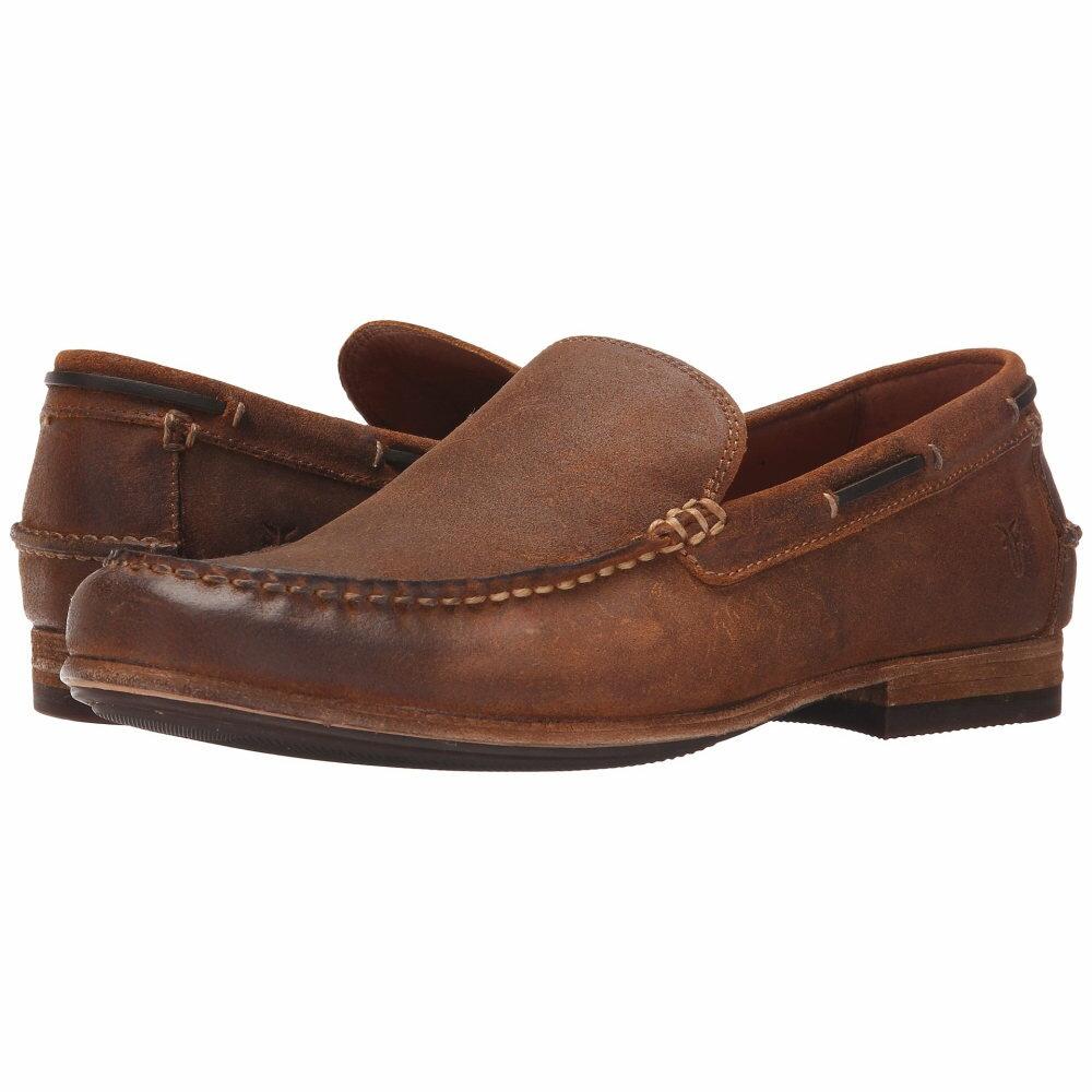 フライ メンズ シューズ・靴 革靴・ビジネスシューズ【Henry Venetian】Tan Waxed Vintage Leather