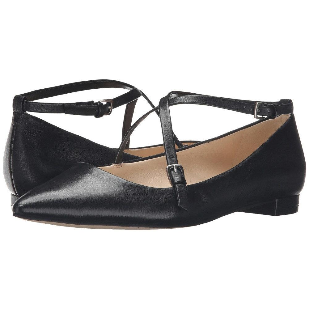 ナインウェスト レディース シューズ・靴 スリッポン・フラット【Anastagia】Black Leather
