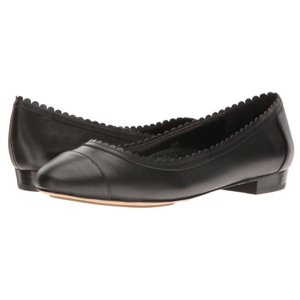 ヴァネリ Vaneli レディース シューズ・靴 フラット【Cabot】Black Nappa