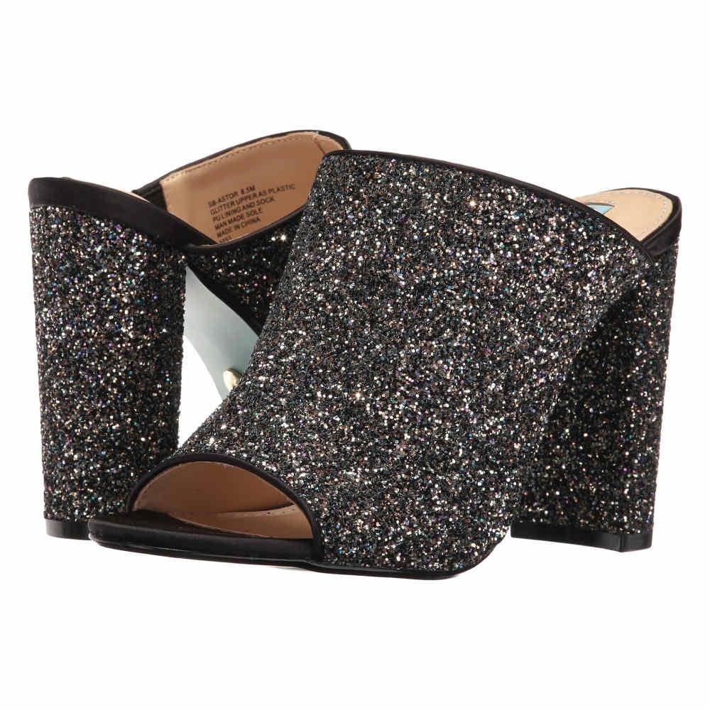 ベッツィ ジョンソン レディース シューズ・靴 ヒール【Astor】Black Glitter