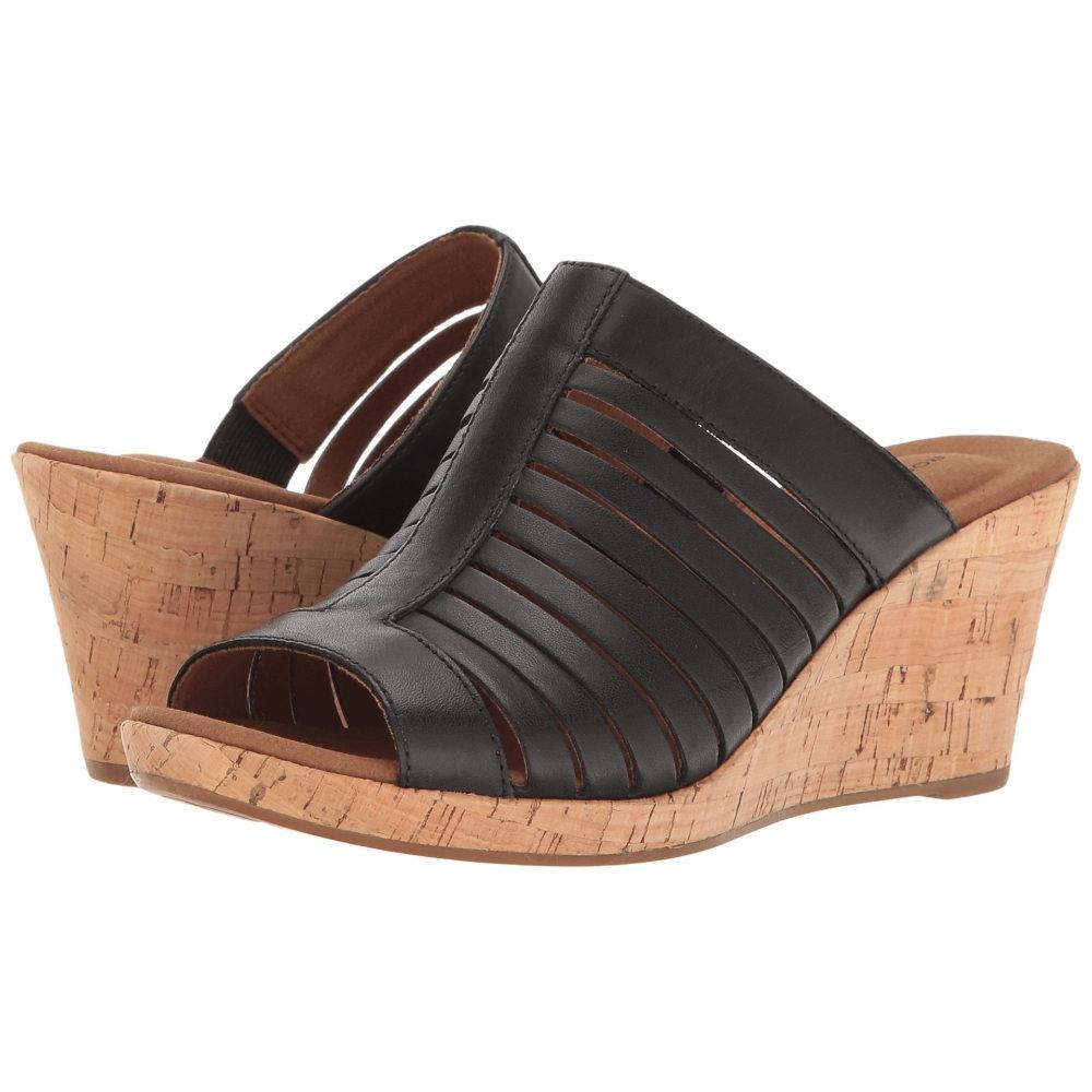 ロックポート レディース シューズ・靴 サンダル・ミュール【Briah Slide】Black Leather