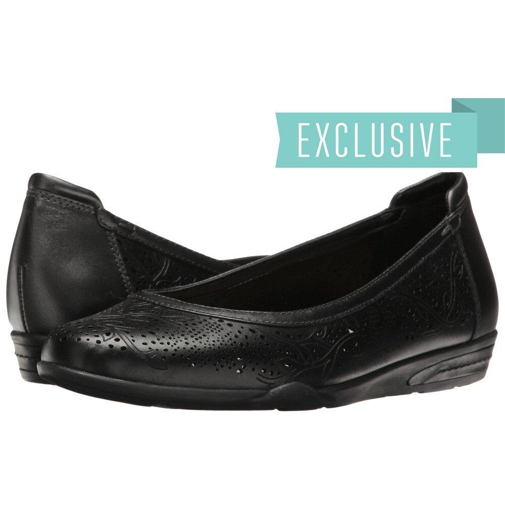 カルソーアースシューズ レディース シューズ・靴 スリッポン・フラット【Celeste】Black