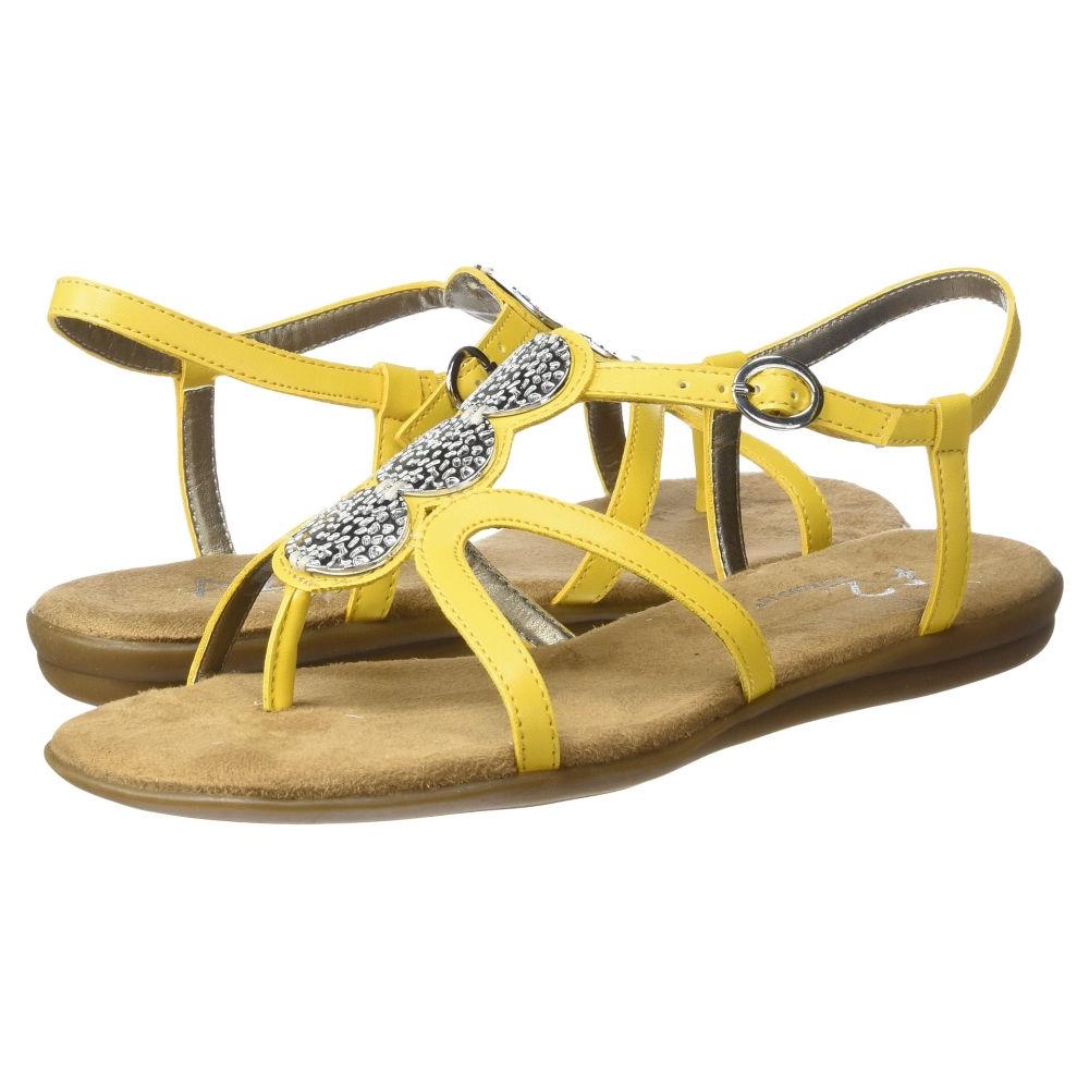 エアロソールズ レディース シューズ・靴 サンダル・ミュール【Country Chlub】Yellow