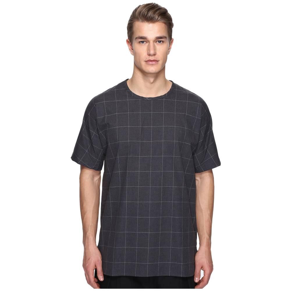 プライベートストック メンズ トップス Tシャツ【White Lines Tee】Black/White