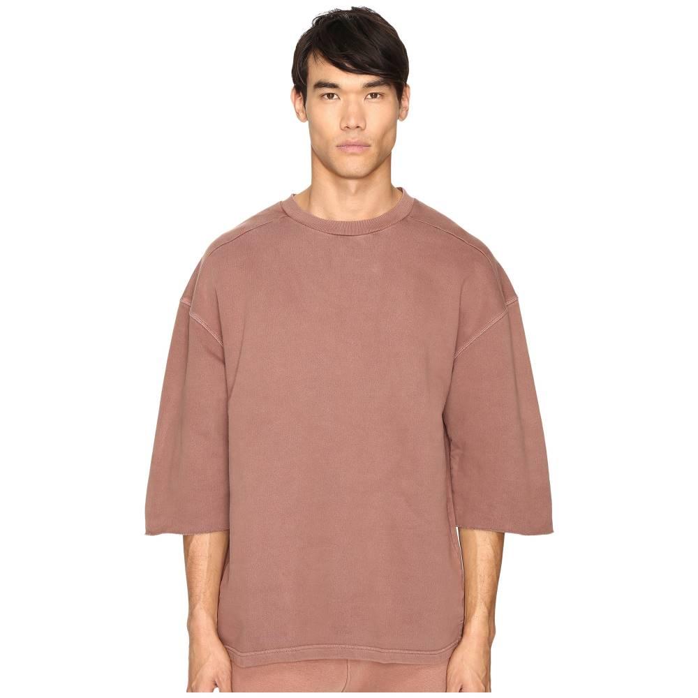アディダス メンズ トップス Tシャツ【Short Sleeve Sweatshirt Tee】Cognac