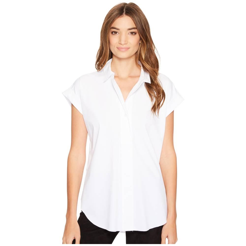 リセ レディース トップス【Rosa Stretch Microfiber Shirt】White