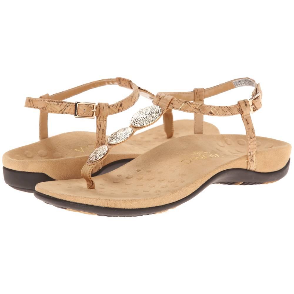 バイオニック レディース シューズ・靴 サンダル・ミュール【Lizbeth】Gold Cork