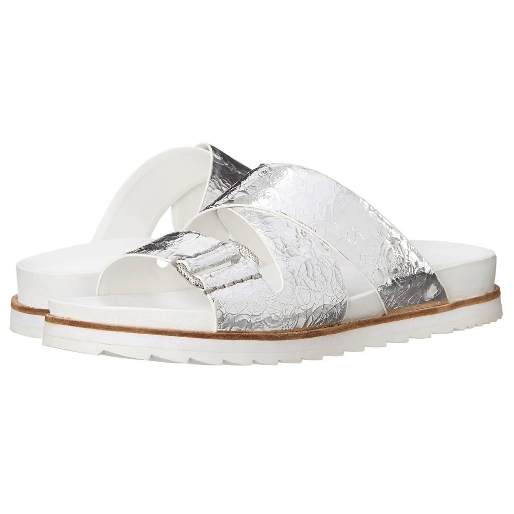 カルバンクライン レディース シューズ・靴 サンダル・ミュール【Valeri】Silver Metallic