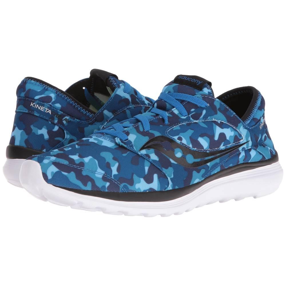 サッカニー メンズ シューズ?靴 スニーカー【Kineta Relay】Blue/Camo
