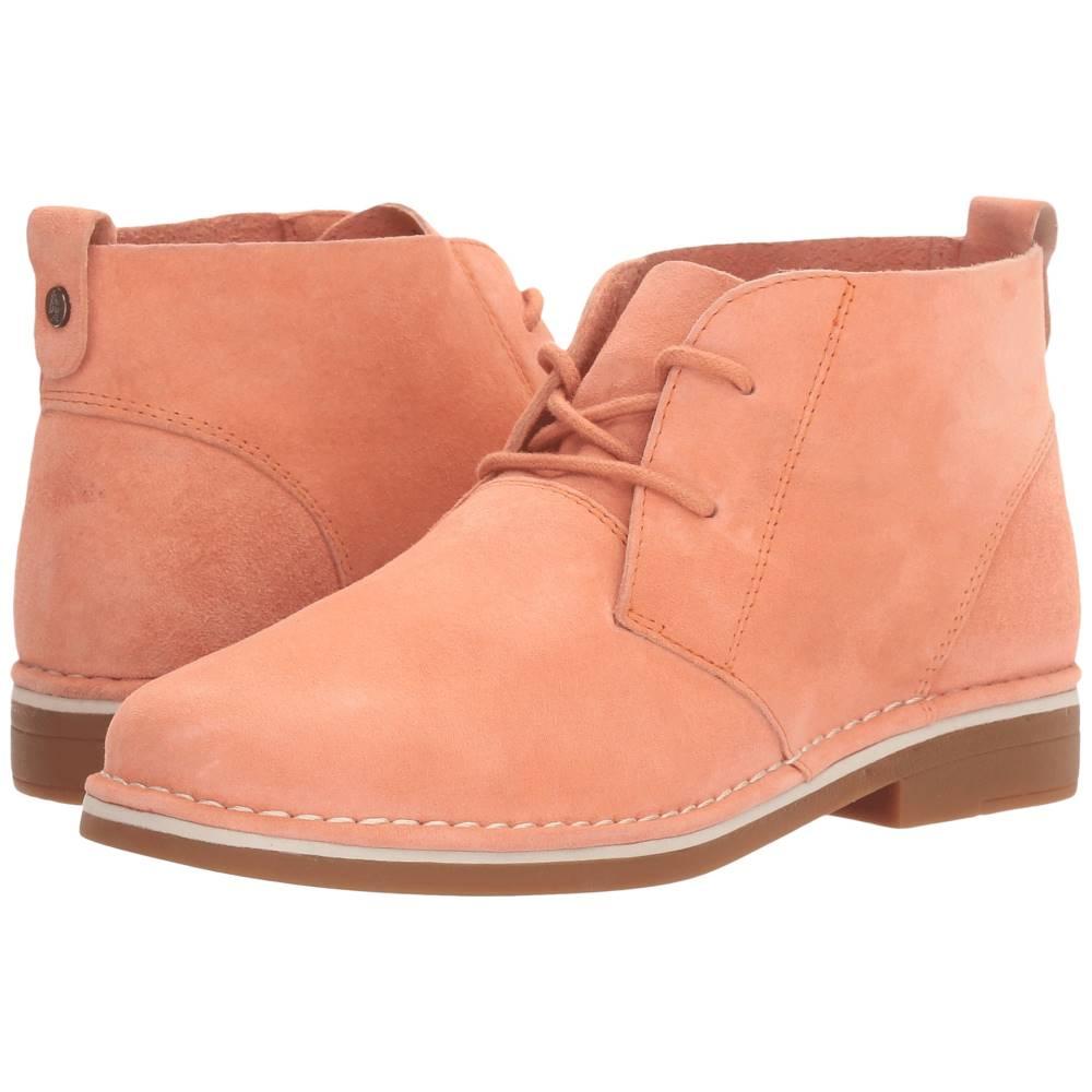 ハッシュパピー レディース シューズ・靴 ブーツ【Cyra Catelyn】Peach Suede