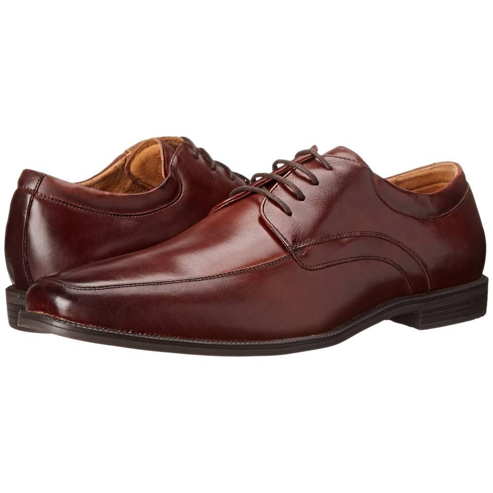 フローシャイム メンズ シューズ・靴 革靴・ビジネスシューズ【Forum Moc Toe Oxford】Cognac Smooth