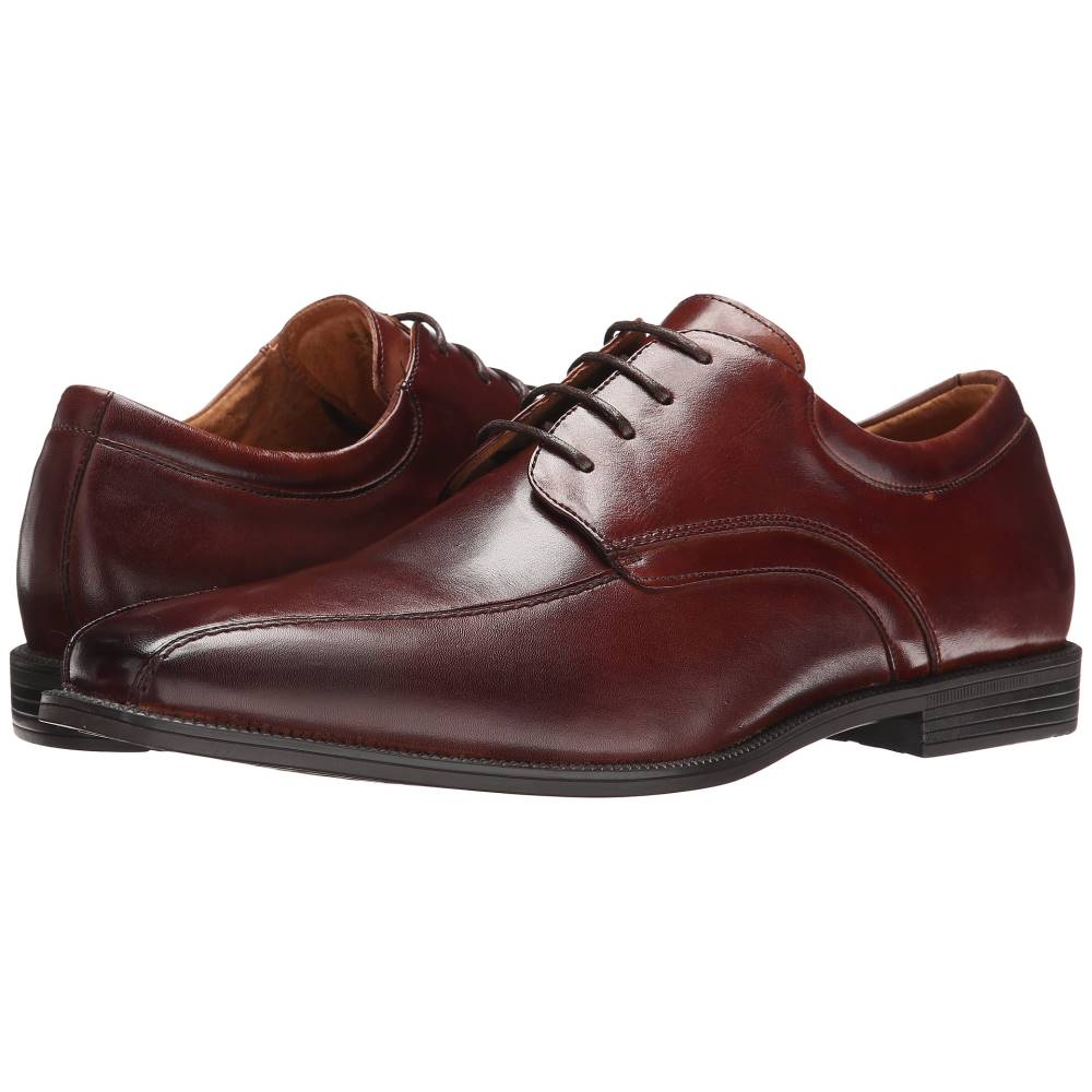 フローシャイム メンズ シューズ・靴 革靴・ビジネスシューズ【Forum Bike Toe Oxford】Cognac Smooth