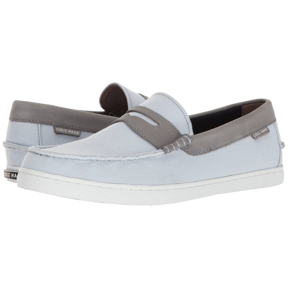 コールハーン メンズ シューズ・靴 革靴・ビジネスシューズ【Nantucket Loafer II】Blue Stripe/Cornwall Blue Leather