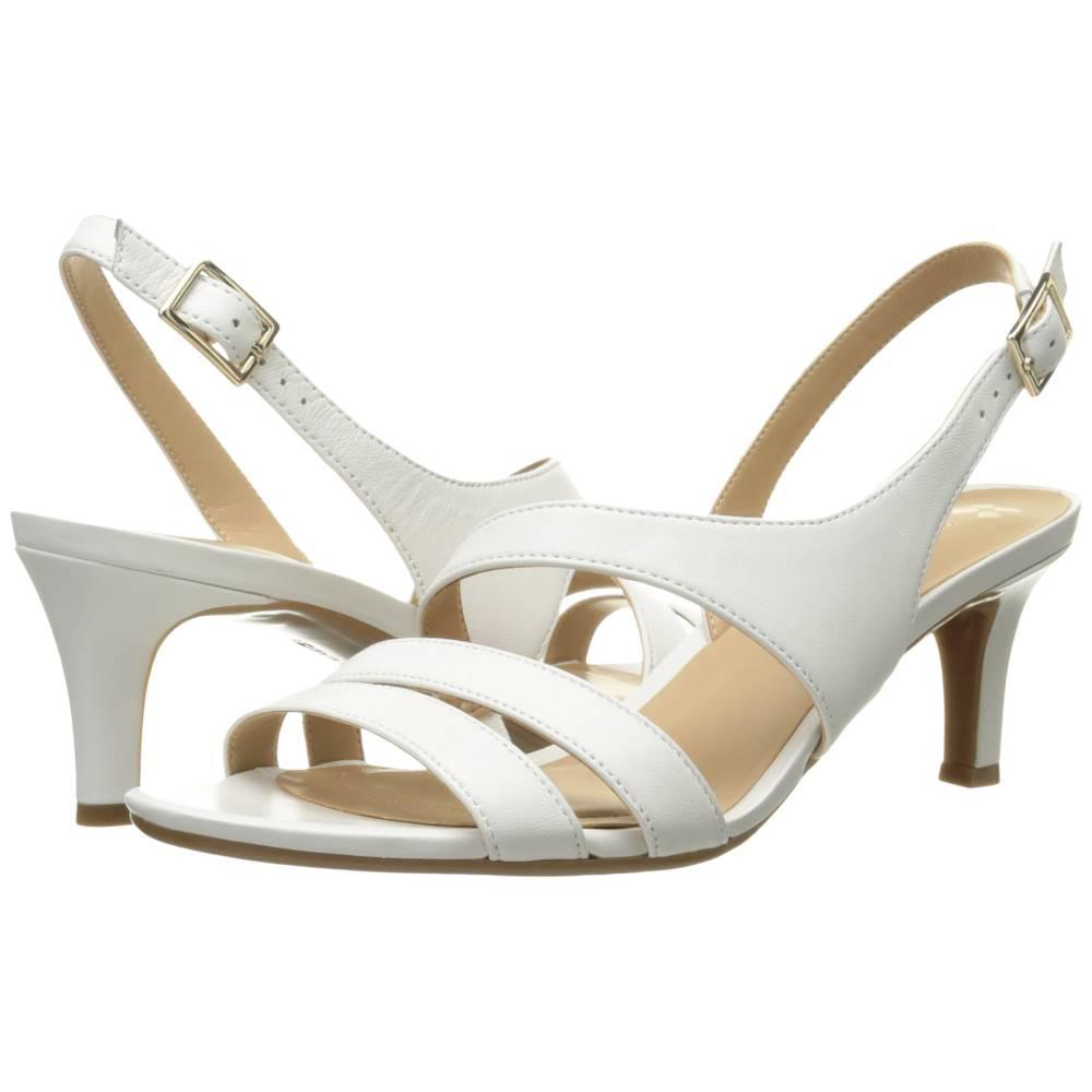 ナチュラライザー レディース シューズ・靴 サンダル・ミュール【Taimi】White Leather