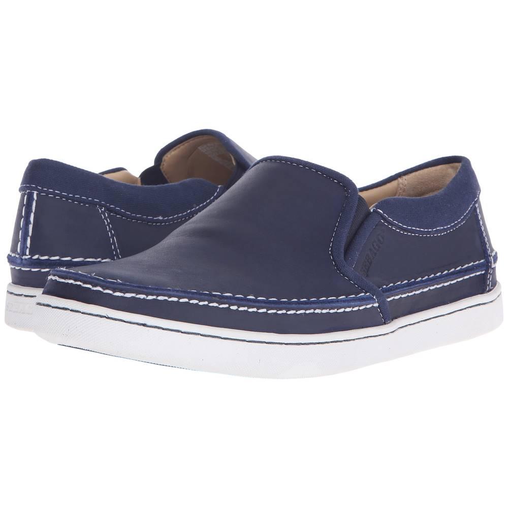 セバゴ メンズ シューズ?靴 スニーカー【Ryde Slip-On】Navy Leather