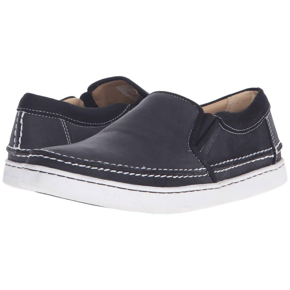セバゴ メンズ シューズ?靴 スニーカー【Ryde Slip-On】Black Leather