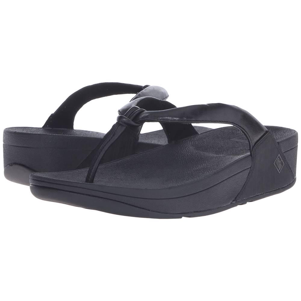 フィットフロップ レディース シューズ・靴 サンダル・ミュール【Swirl】All Black