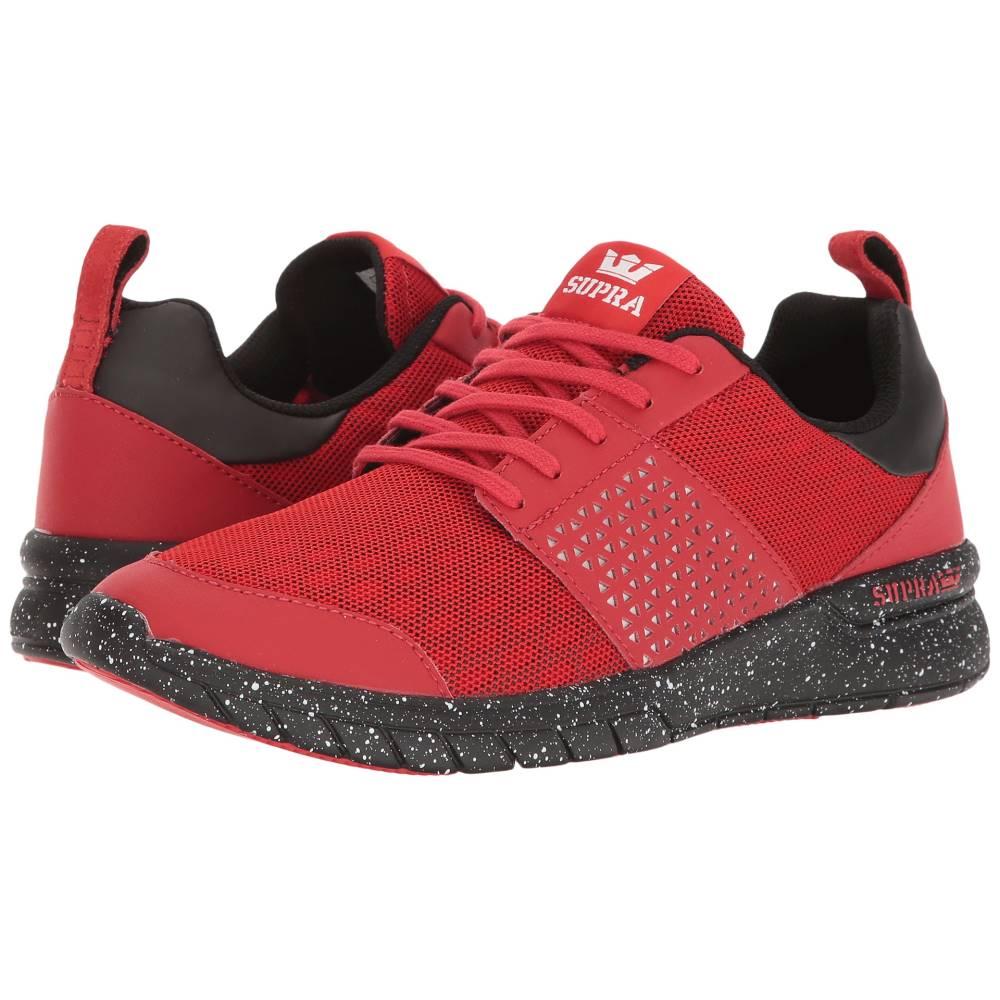 スープラ メンズ シューズ・靴 スニーカー【Scissor】Red/Black Speckle