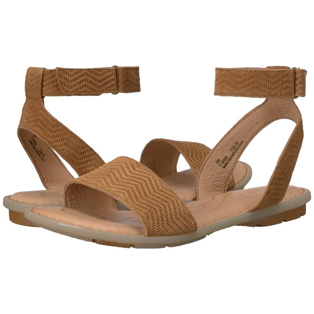 ボーン レディース シューズ・靴 サンダル・ミュール【Tegal】Brown Suede