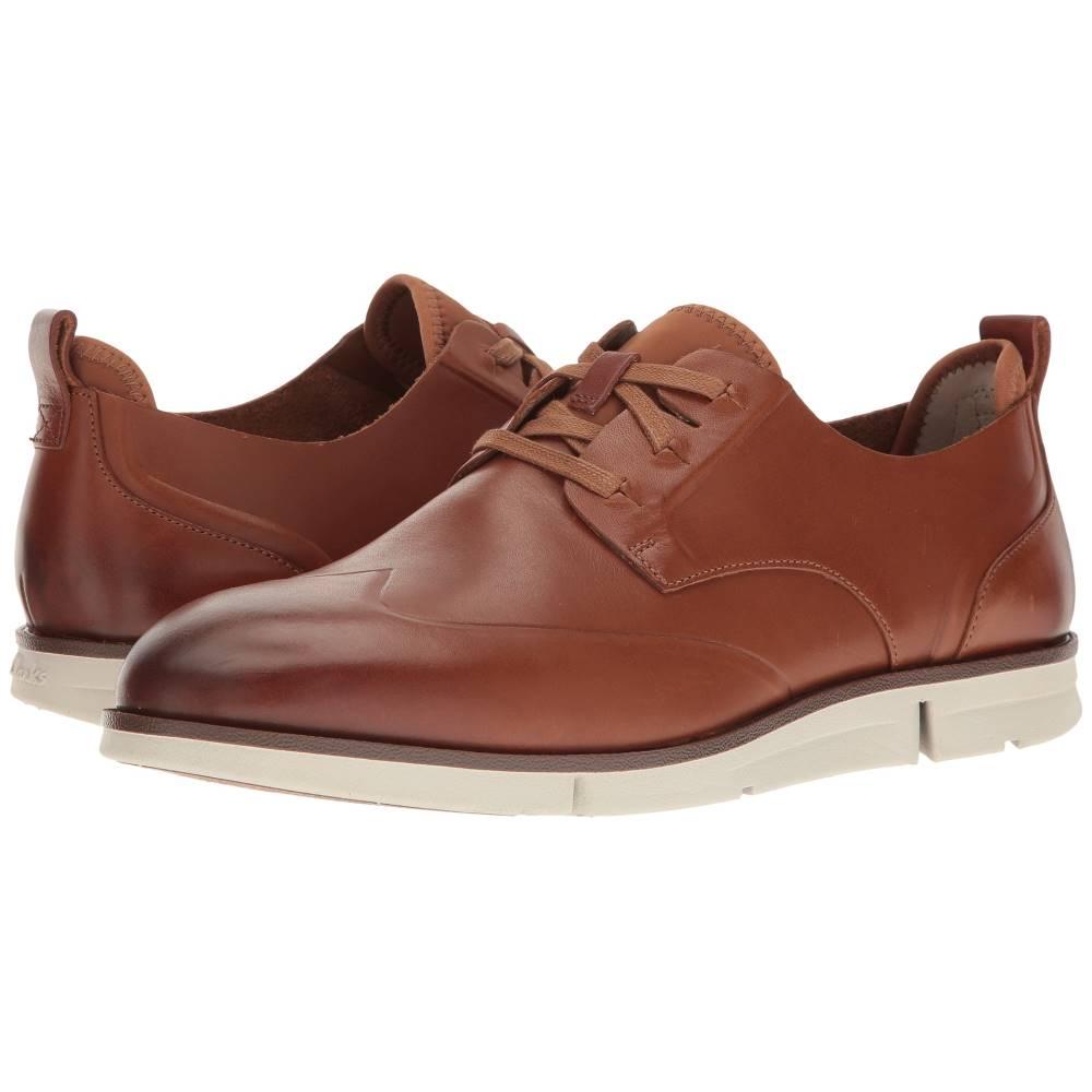 クラークス メンズ シューズ・靴 革靴・ビジネスシューズ【Trigen Wing】Tan Leather