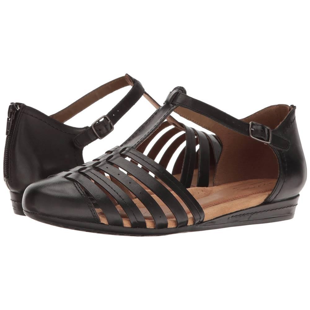 ロックポート レディース シューズ・靴 サンダル・ミュール【Cobb Hill Galway Strappy T】Black Leather