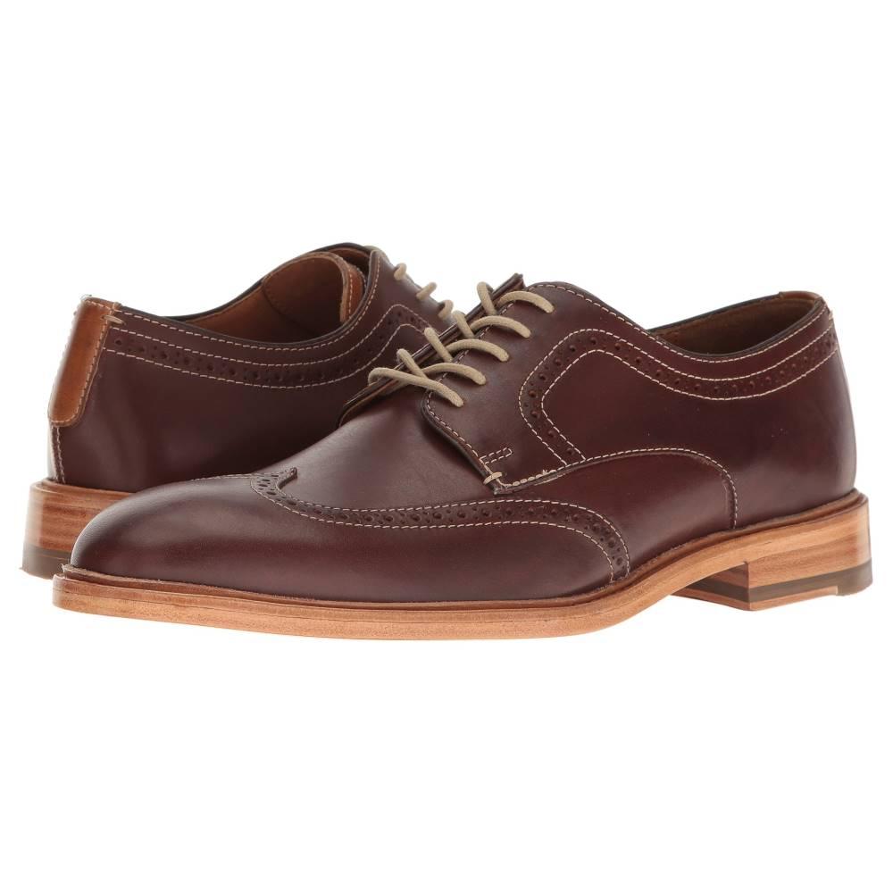 ジョンストン&マーフィー メンズ シューズ・靴 革靴・ビジネスシューズ【Campbell Wingtip】Mahogany Full Grain