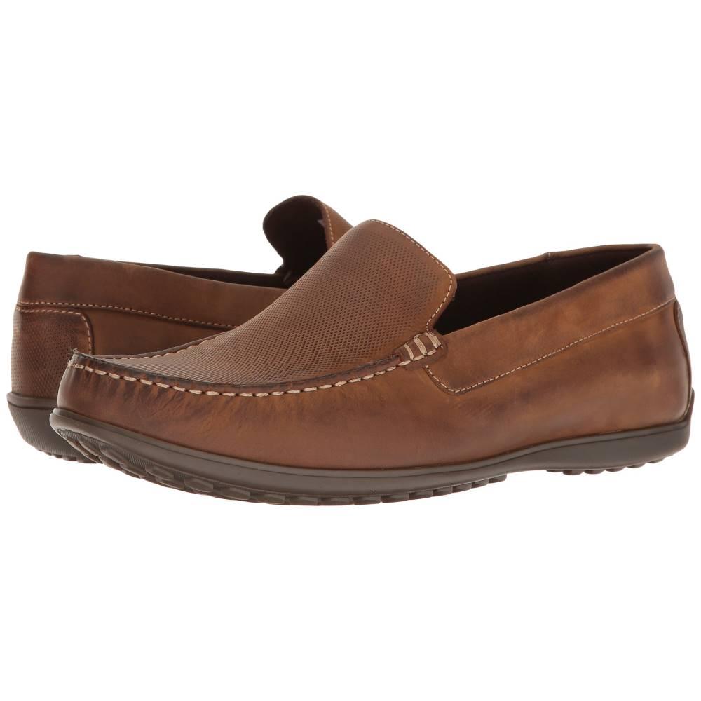 ロックポート メンズ シューズ・靴 スリッポン・フラット【Bayley Venetian】Camel Leather