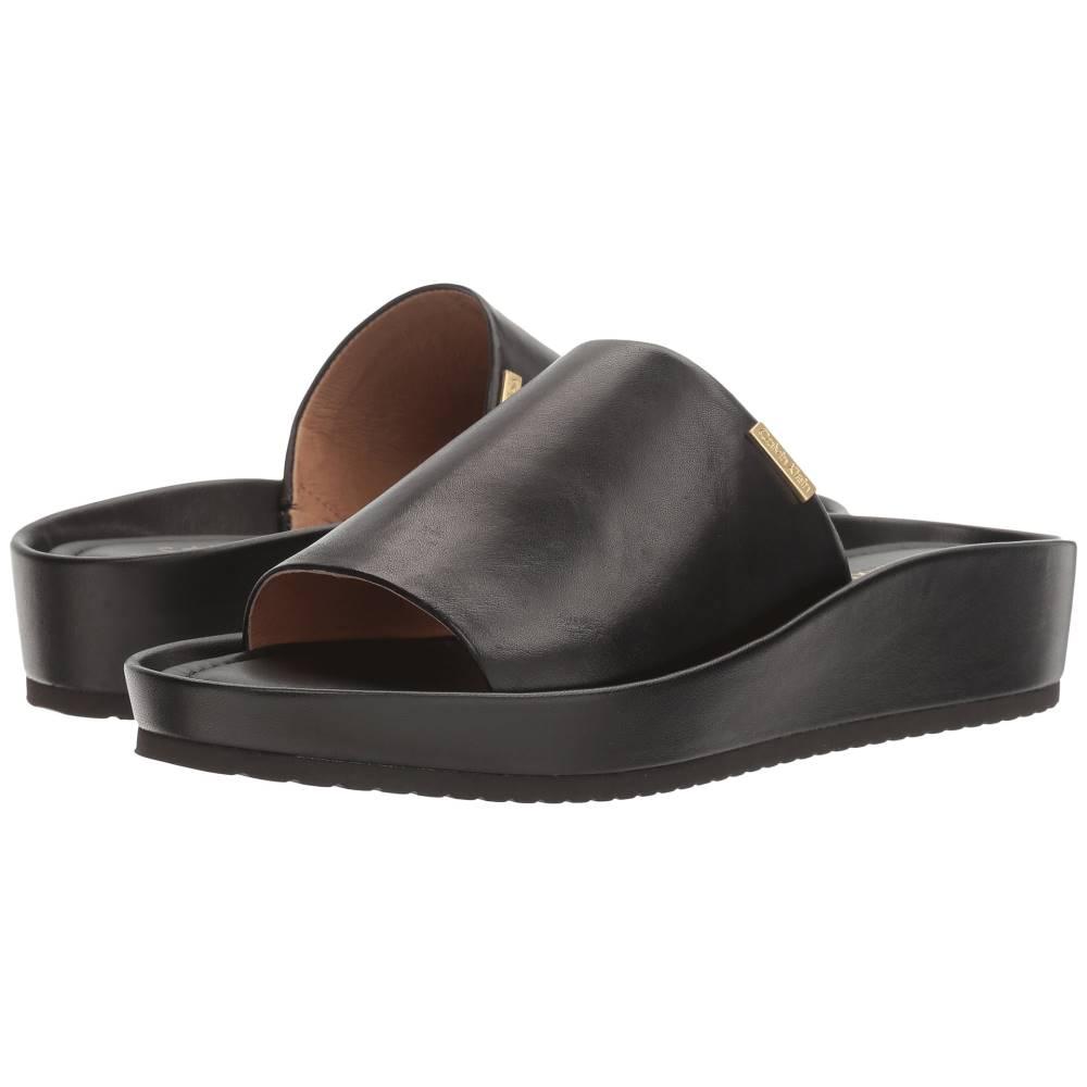 カルバンクライン レディース シューズ・靴 サンダル・ミュール【Hope】Black Leather