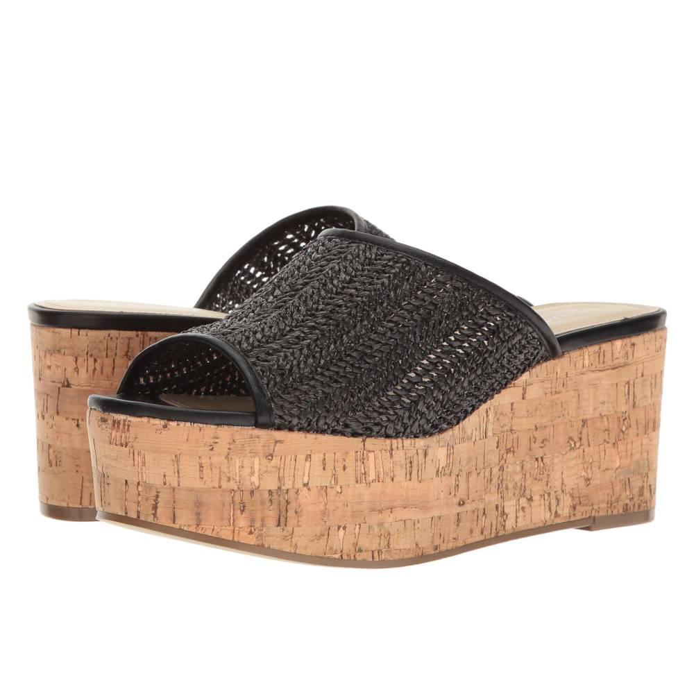 チャールズ デイビッド レディース シューズ・靴 サンダル・ミュール【Crisp】Black Basket Woven