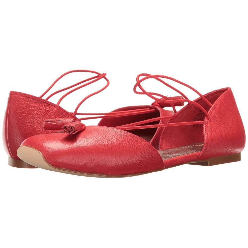ナインウェスト レディース シューズ・靴 スリッポン・フラット【Zaina】Red Leather