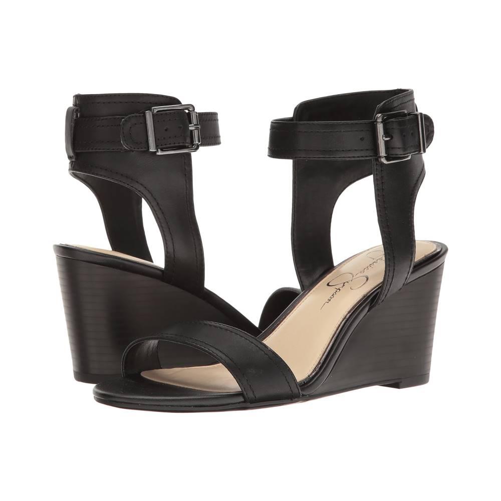 ジェシカシンプソン レディース シューズ・靴 サンダル・ミュール【Cristabel】Black Soft Nappa Silk
