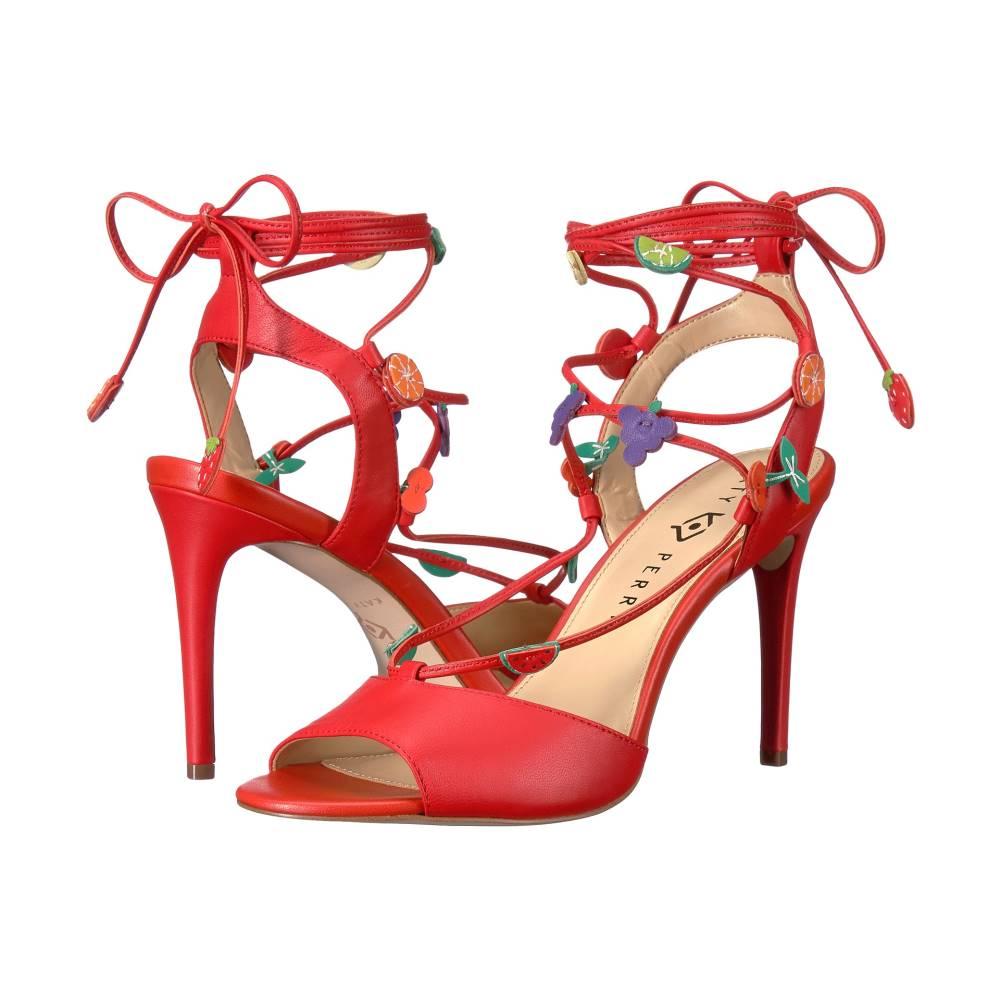 ケイティ ペリー レディース シューズ・靴 サンダル・ミュール【The Carmen】Cherry Red Nappa