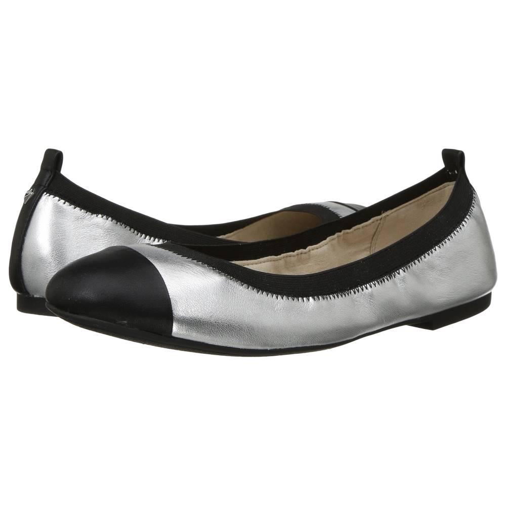 サム エデルマン レディース シューズ・靴 スリッポン・フラット【Freya】Soft Silver Leather