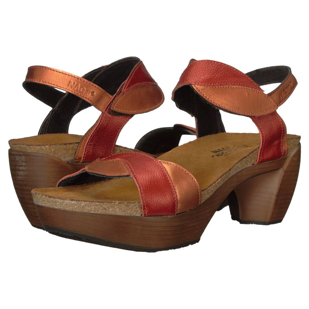 ナオトフットウェアー レディース シューズ・靴 サンダル・ミュール【Union】Garnet Leather/Mandarin Leather