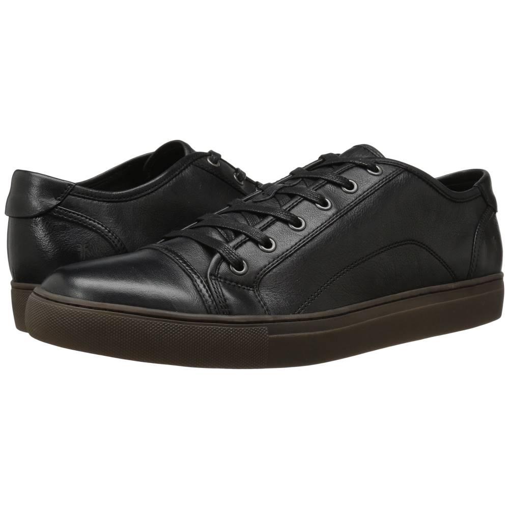 フライ メンズ シューズ・靴 革靴・ビジネスシューズ【Justin Low Lace】Black Vintage Leather